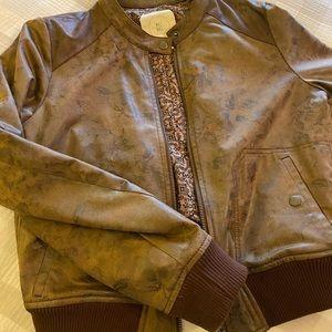 Anthropology brown jacket